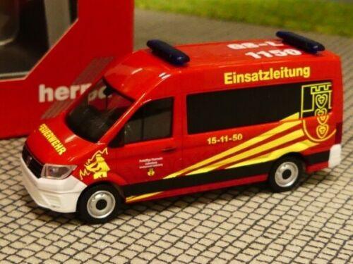 Goslar 094269 1//87 Herpa VW Crafter Bus HD ELW Feuerwehr Liebenburg