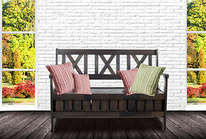 truhenbank sitzbank k chenbank holzbank landhaus shabby chic 120 cm. Black Bedroom Furniture Sets. Home Design Ideas
