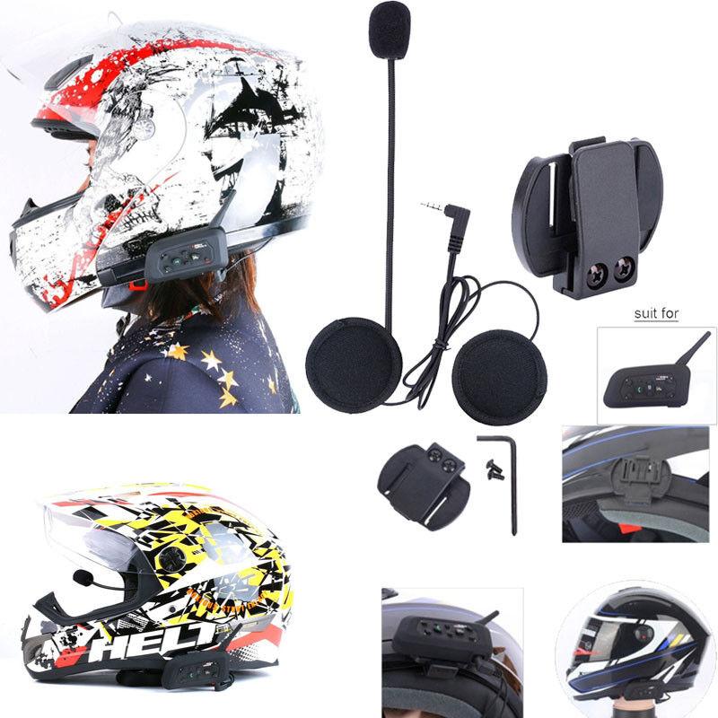 Motorcycle Helmet Wireless Headset Bluetooth Helmet Intercom