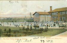 Chicago IL Hamilton Park Wading Pool 1906