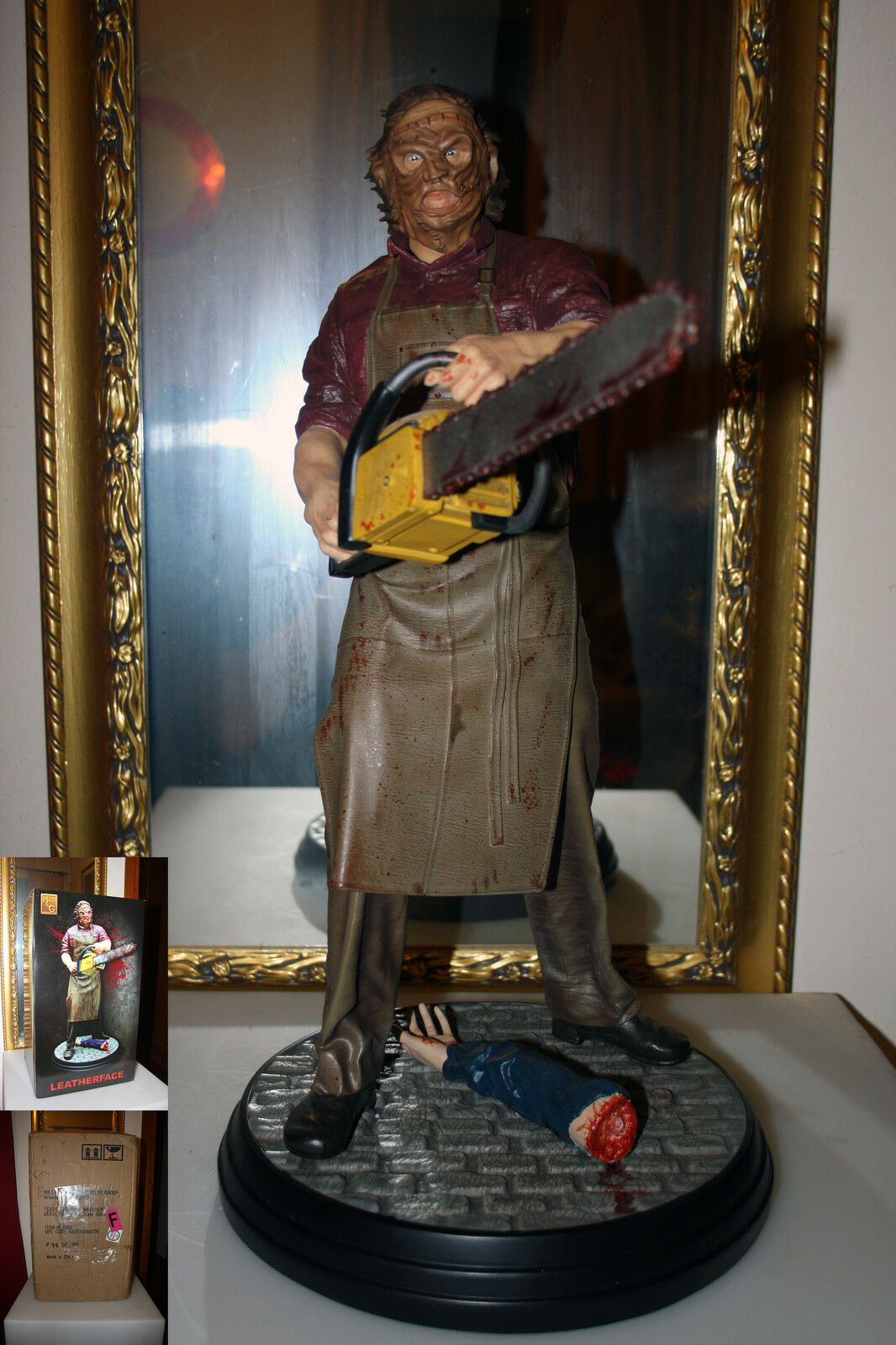 HCG Hollywood Collectibles - Texas Chainsaw Massacre - Pelleface 1/4