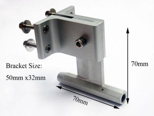 """Aluminum Strut Pour 1//4/"""" Câble arbre RC Bateau T70 6.35 mm"""