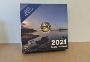 Coffret BE Proof 2 Euros Commémorative Finlande 2021 Aland