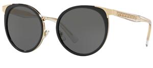 Versace-Damen-Sonnenbrille-VE2185-1252-87-54mm-schwarz-rund-gold-S-DU1-H