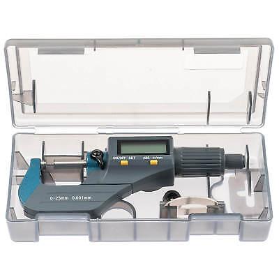 DIGITALE 0-25 MM MIKROMETER BÜGELMEßSCHRAUBE MICROMETER 0.001mm AUßENDURCHMESSER