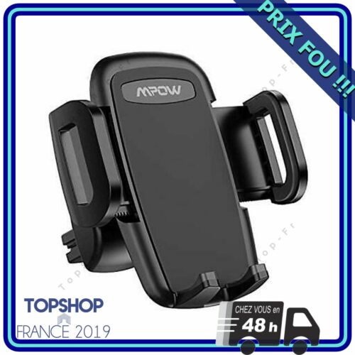 Mpow car mount telephone ventilation with rotation on 3 levels to 360...