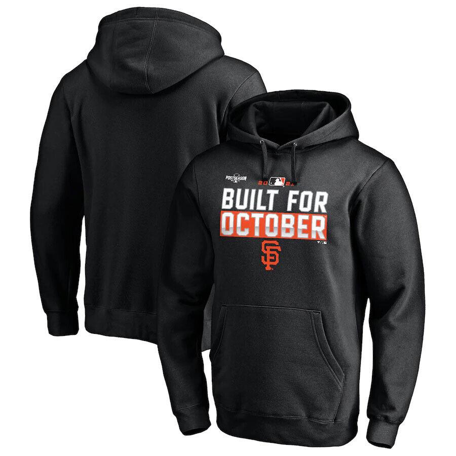 San Francisco Giants 2021 Postseason Locker Room Hoodie Sweatshirt - Black