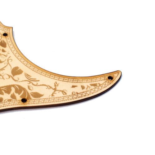 Ahornholz HSH Guitar Pickguard Scratch Plate für Fender ST E Gitarre