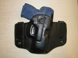XDS 3.3 9MM & 45 CAL.  REVERSIBLE, IWB OR OWB, R H, formed pancake belt holster