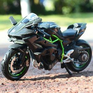 1-18-Maisto-Kawasaki-Ninja-H2R-Iron-Motorcycle-Racing-Alloy-Static-Model-Toys