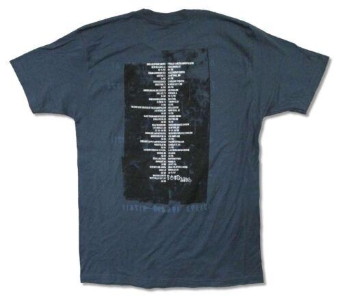 Cure 1597 Tour 2016 Mens Slate Blue T Shirt New Official Adult