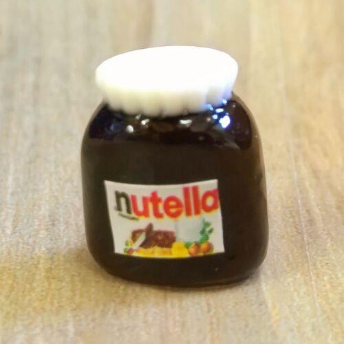 Maison Poupée Échelle 12ème chocolat propagation Jar-Nutella Noël traiter
