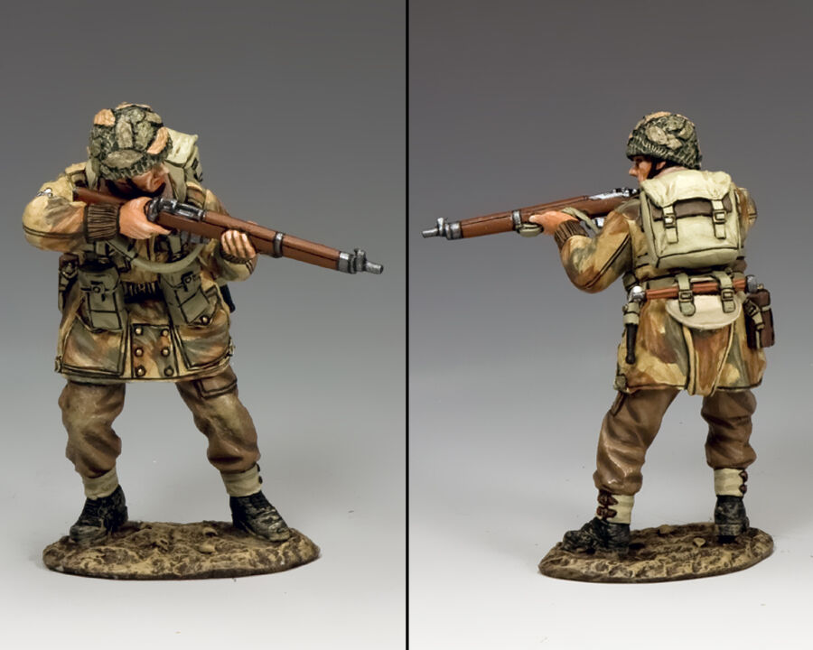 KING AND AND COUNTRY Ready Rifleman Operation Market Garden MG064(P)