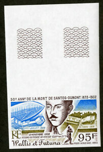 Wallis-amp-Futuna-Stamps-C114-XF-OG-NH-Imperf