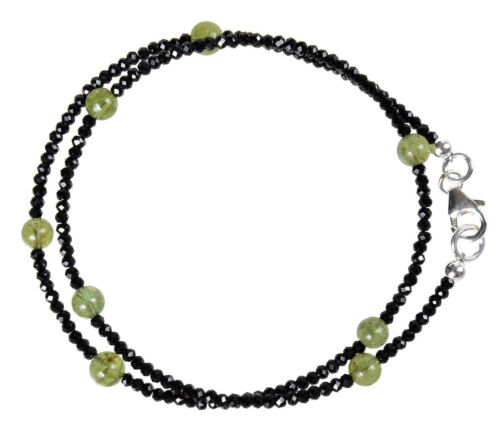 HIDDENIT Wickel-Armband 925 Silber Armkette Z289 SPINELL
