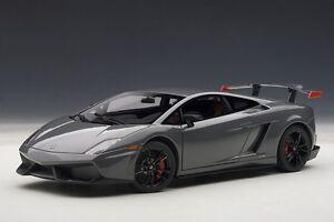 Lamborghini Gallardo Lp570 Supertrofeo Route Gris Télesto 1:18 74692