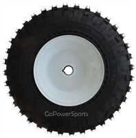 Go-kart Parts, 1 Live Axle Wheel Assembly With 145/70-6 Knobby Tires