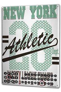 Calendario-perpetuo-Deportes-Nueva-York-athletic-Metal-Imantado