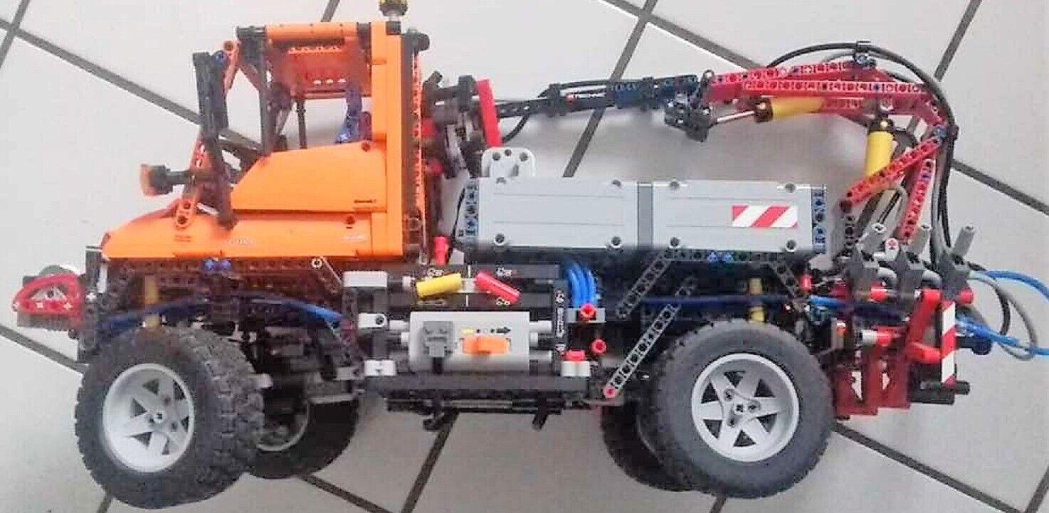 LEGO 8110 Technic Unimog u400 con  telecouomodo per orientare e avanti e indietro fa  fino al 50% di sconto