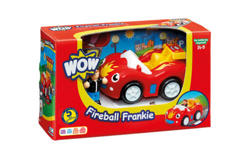 Racing Car suitable for 1 years + Fireball Frankie from WOW Toys for toddlers