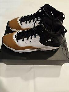 MEN-039-S-Nike-JORDAN-B-039-LOYAL-BASKETBALL-SHOES-White-Black-Gold-NEW-CT1603-100