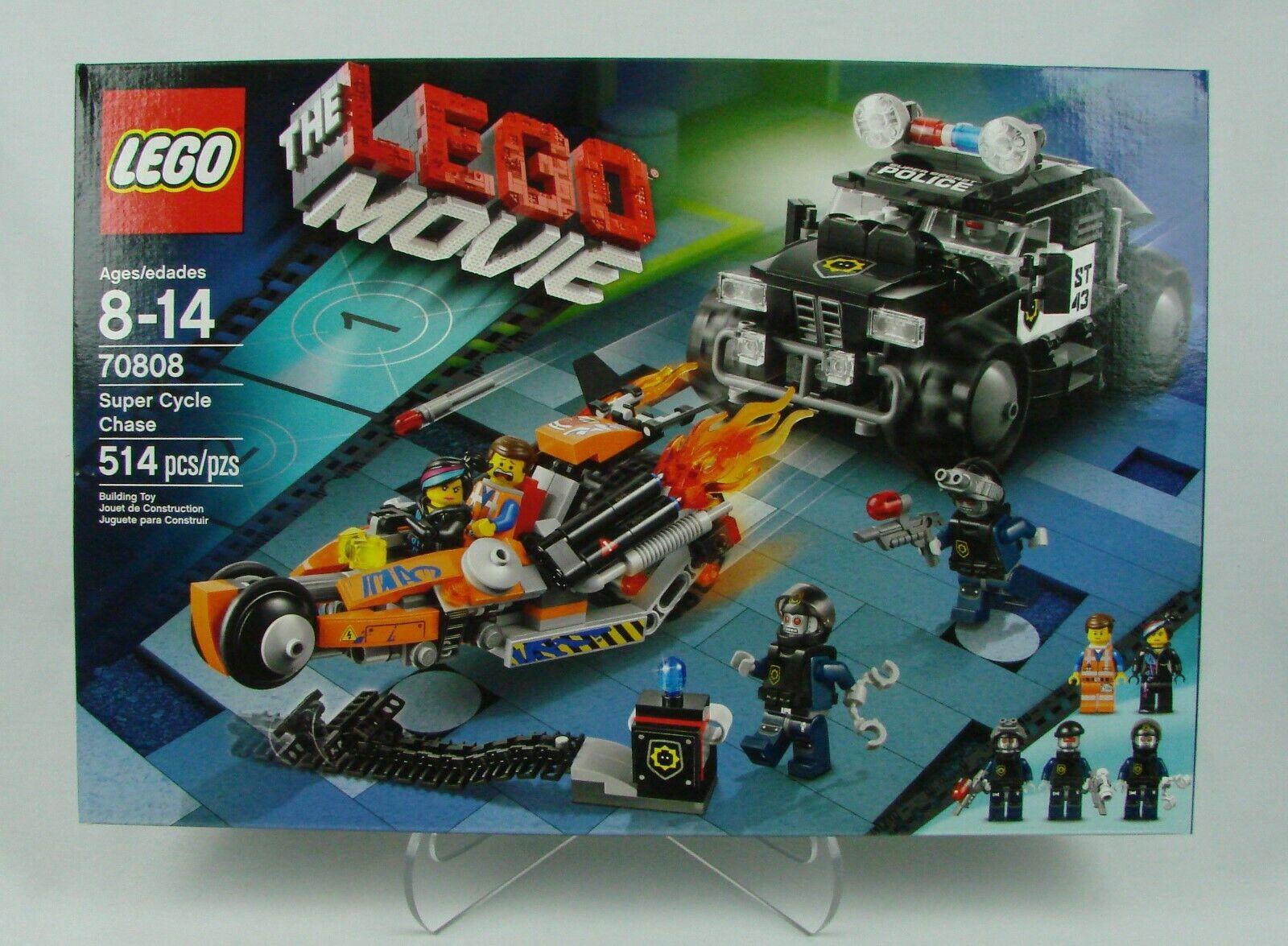 Lego  The Lego Movie    Super Cycle Chase   514 pcs (2014)  NISB