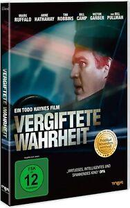 Verità AVVELENATA [DVD/Nuovo/Scatola Originale] giustizia Carlsen con Mark Ruffalo, Anne Hathaway