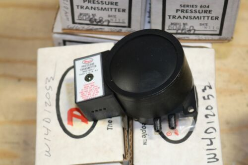 Dwyer 604A-2, Series 604 Pressure Transmitter