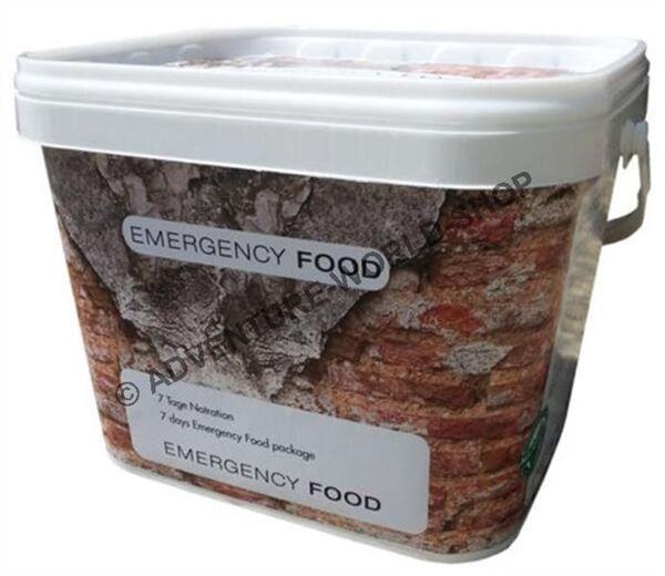 Emergency Food 7 jours constituer pour une personne rations (  kg)