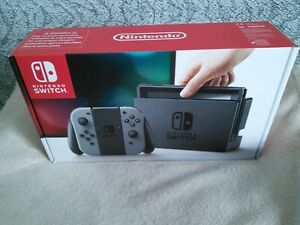 Console Nintendo Switch Joy-Con Gris [NEUVE JAMAIS OUVERTE]