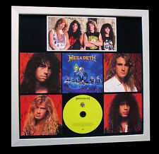 MEGADETH+Rust Peace+LTD+GALLERY TOP QUALITY FRAMED+FAST GLOBAL SHIP+Not Signed