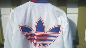 Details zu Adidas BOMBERJACKE 80er 90er Vintage Retro Rarität ungetragen weiß Logo russisch