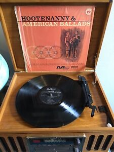 Details about Hootenanny & American Ballads VINYL RECORD Bob Dylan Folk  Cover Album 60's Rare