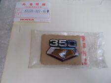 NOS OEM Honda Right Air Cleaner Cover Emblem 1971 CB350K3 CL350K3 87129-317-670