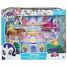 My Little Pony Friendship Is Magic Collection Rarity Carousel Boutique Set *NEW*