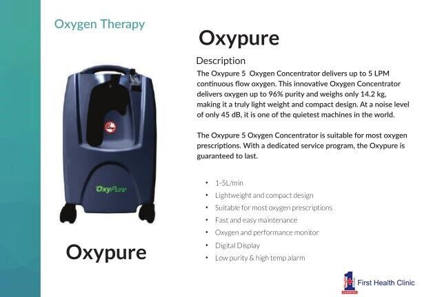 New medical graded portable oxygen concentrator