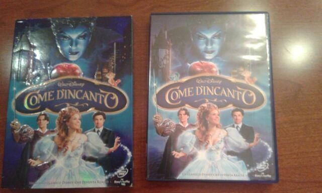 WALT DISNEY COME D'INCANTO DVD NO BLURAY HARRY POTTER OLOGRAMMA SLIPCASE
