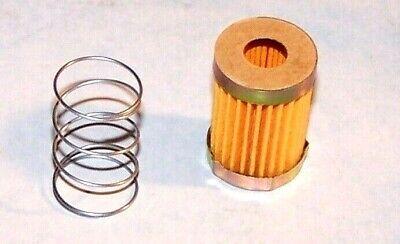 Quadrajet Power Quadrajet short fuel filter kit with spring and gasket 72-89