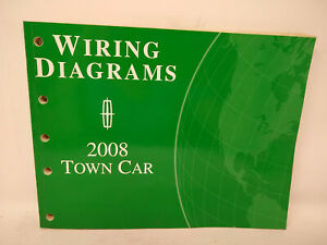 OEM 2008 Ford Lincoln Town Car Wiring Diagrams Manual | eBay