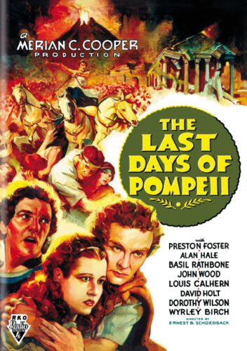 The last days of Pompeii vintage movie poster print #12