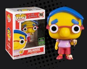 FUNKO-Simpsons-Milhouse-ECCC-exclusivo-2020-Pop-Vinilo-ahora-En-Stock
