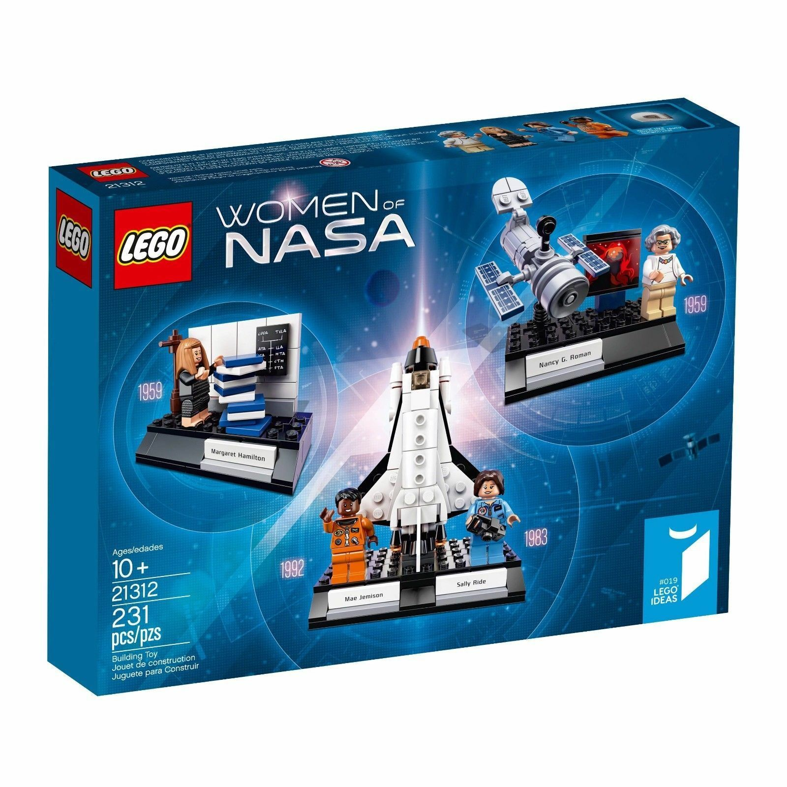 21312 Damen OF NASA city town lego NEW sealed lego set science kit ideas nisb