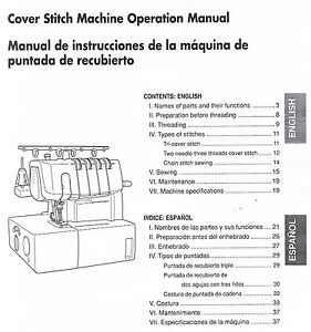 brother 2340cv serger cover stitch manual