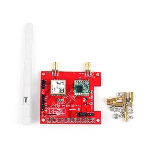 Funkmodul Wireless 433//868//915 Mhz Lora//GPS Expansion Board Für Raspberry Pi AH
