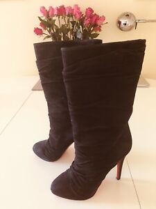 uk availability 8d2f9 aefd7 Details about Christian Louboutin Sexy Piros Boots sz37 (Original Box and  Dustbag included)