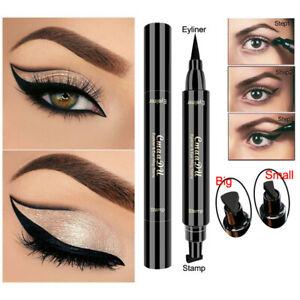 Doble-cabeza-Negro-Resistente-Al-Agua-Delineador-Liquido-Lapiz-Delineador-de-Ojos-Maquillaje