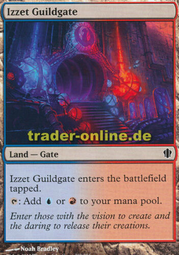 Commander 2013 Magic 2x Izzet Guildgate Izzet-Guild entrance