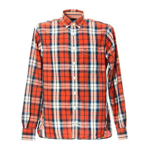 Tommy-Hilfiger-Karo-Hemd-Groesse-S-Herren-Kariert-Shirt-Langarm-Custom-Fit