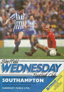 Football-Programme-Sheffield-Wednesday-v-Southampton-Div-1-8-11-1986