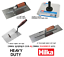 Plastering-Trowels-Aluminium-Hawk-11-034-18-034-Finishing-amp-BUCKET-Trowel-Set-HILKA thumbnail 1
